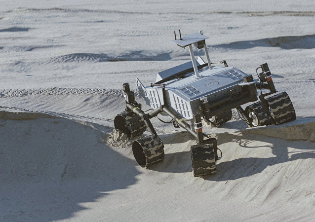 EARTH7 planetary rover