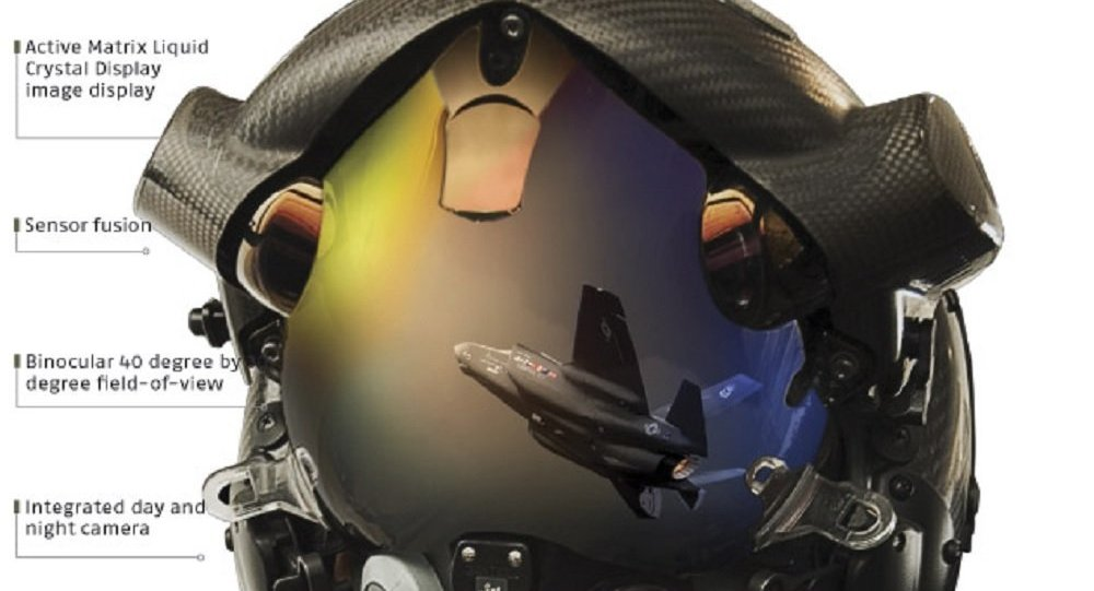 US Navy Demonstrates Helmet That Gives F-35 Pilots 360
