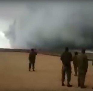 Golan Heights Storm