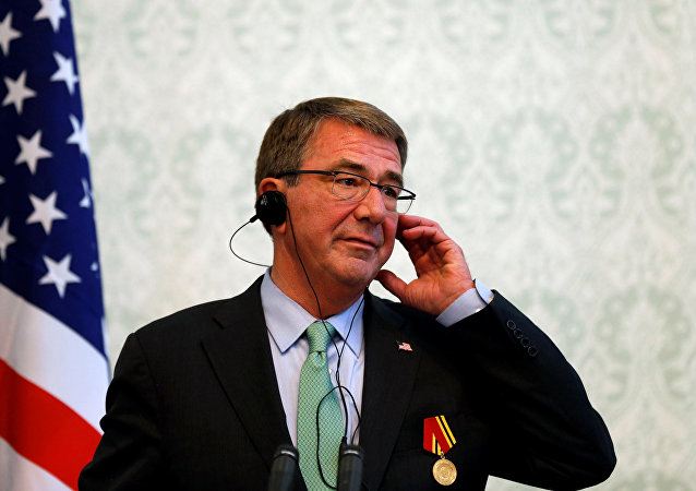 U.S. Defense Secretary Ashton Carter