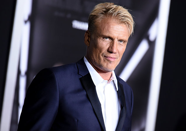 Actor Dolph Lundgren attends the LA Premiere of Creed held at the Regency Village Theater on Thursday, Nov. 19, 2015, in Los Angeles