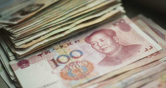 Chinese 100 yuan notes. (File)