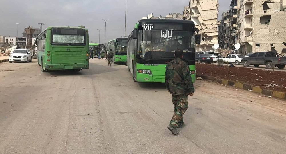 On Friday, the Russian Defense Ministry announced that Aleppo was now under full government control with the Syrian army operation to retake the eastern districts completed. Civilians and militants were leaving the city amid a ceasefire agreement between the remaining pockets of resistance and government forces.