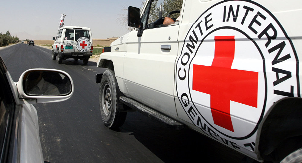 On Monday, a group of unidentified armed men stopped two vehicles with ICRC staff members traveling from the city of Mazar-e-Sharif to Kunduz and took one of the employees.
