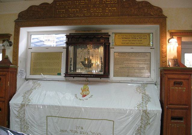The Tomb of Rabbi Nachman of Breslov in Uman, Ukraine