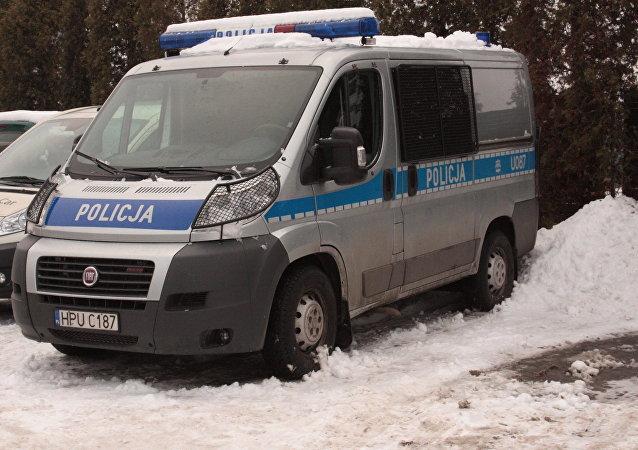 Polish police cars. (File)