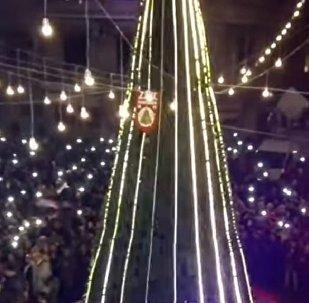 Aleppo Christmas celebrations