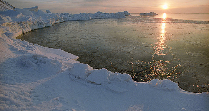 An Arctic dawn. (File)