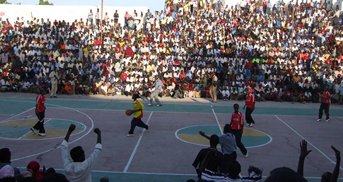 Women's Basketball in Mogadishu, Somalia