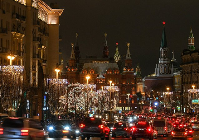 Moscow's Tverskaya Street
