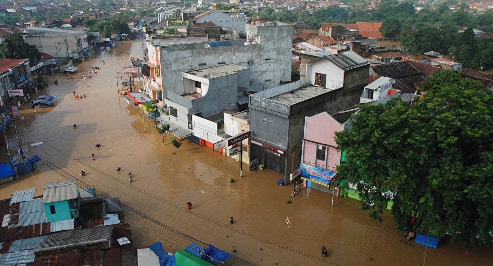 Floods in Indonesia. (File)