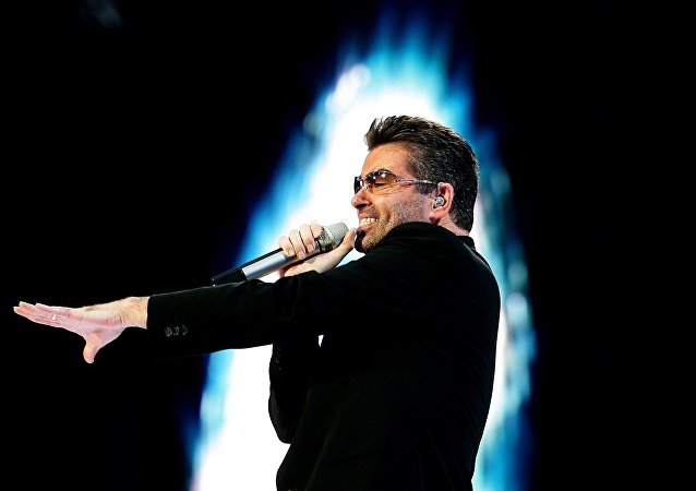 British singer George Michael (File)