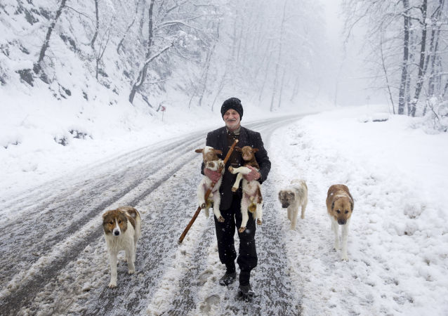 Snowbound Villages in Iranian Talysh Mountains