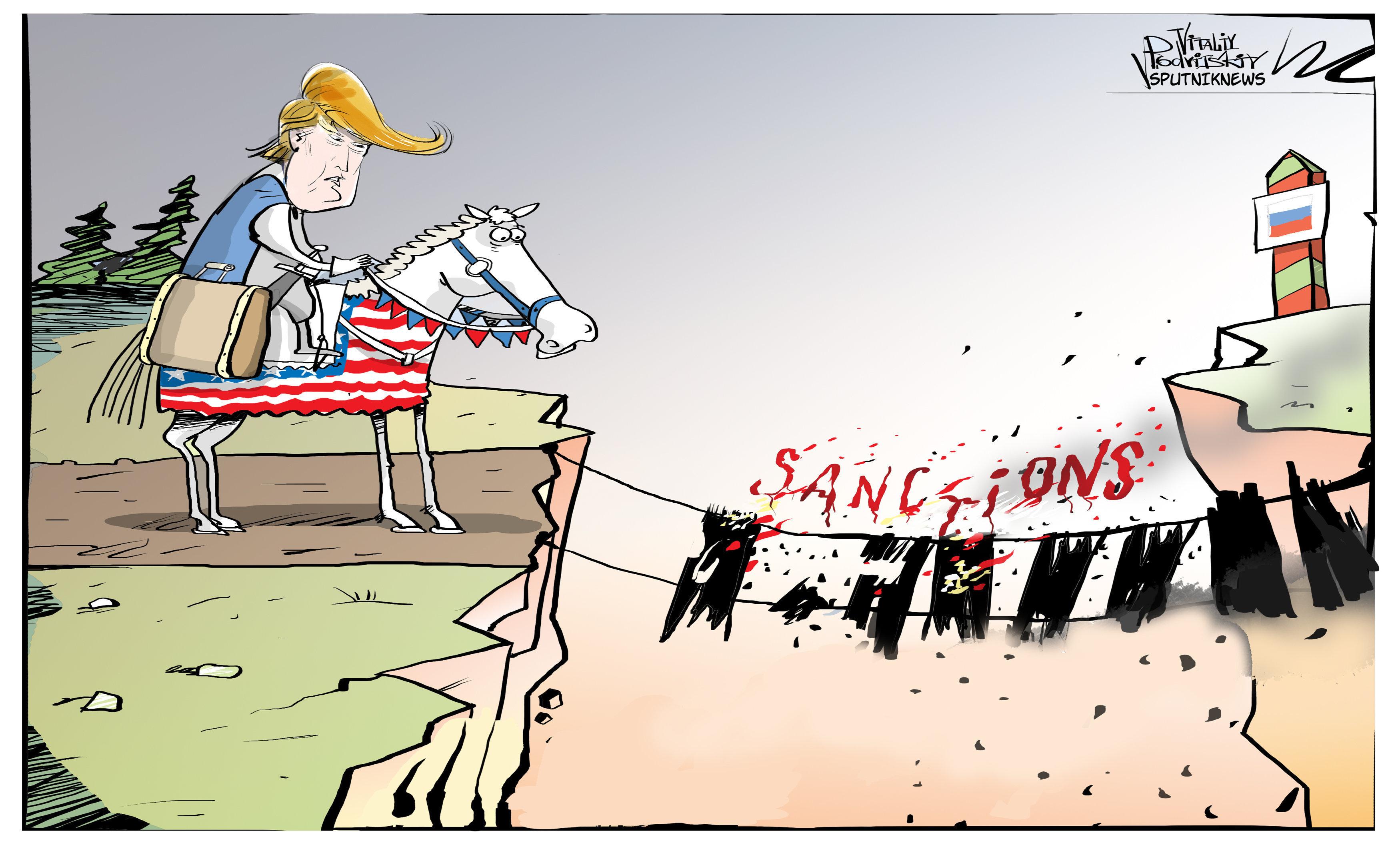 Donald VS Sanctions