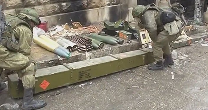 Weapons Manufactured In Europe Are Found In Aleppo