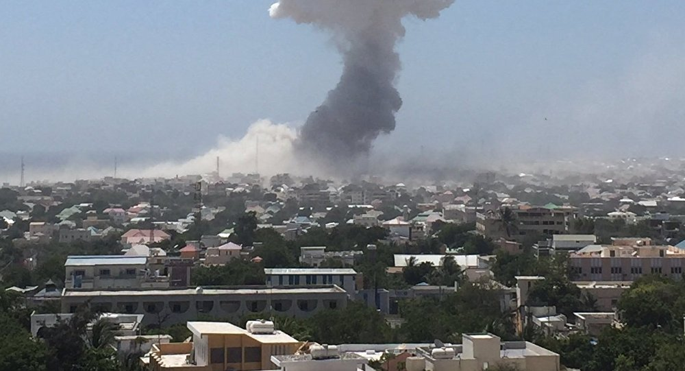 Casualties Reported in Suicide Car Bomb Attack in Somalia's Capital