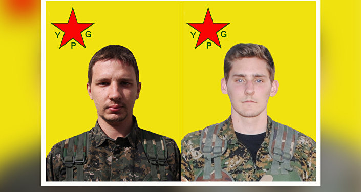 Nazzareno Antonio Tassone (Canada) & Ryan Lock (UK) lost their lives while fighting against daesh in Raqqa, Syria