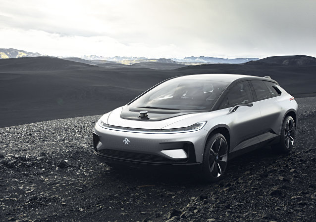 FF91 model from Faraday Future