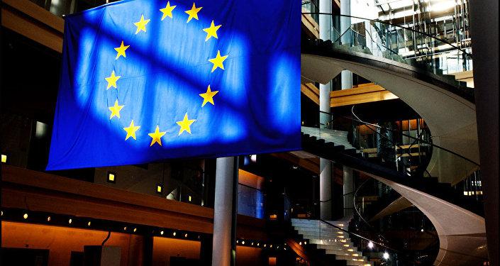 European Parliament flag