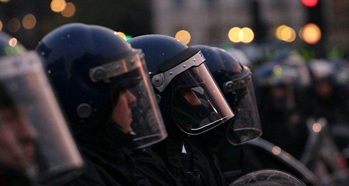 Riot police UK