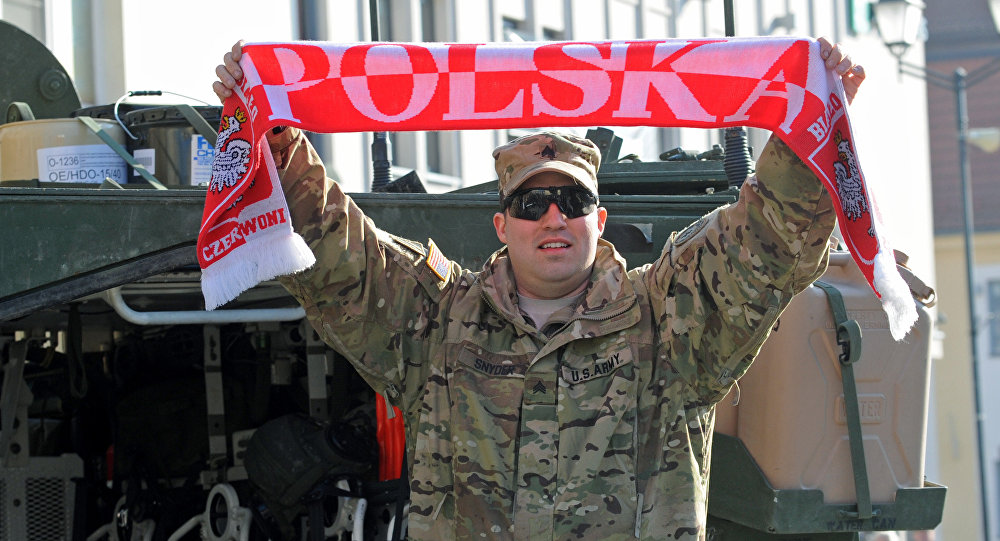 USA  troops in Poland 'a threat to Russia's security'