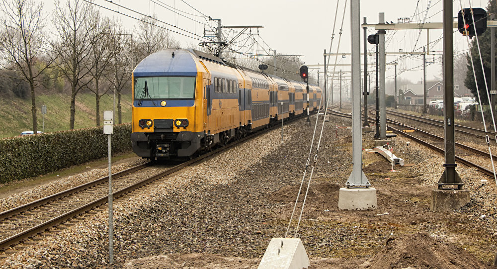 Dutch Railways train