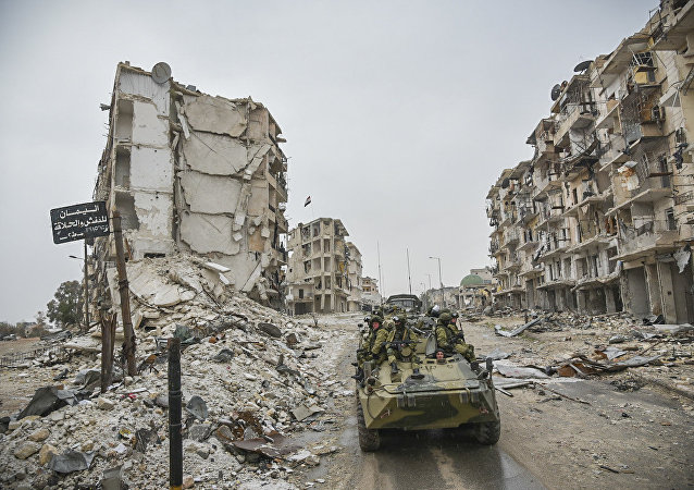 Russian forces in Syria (file photo)