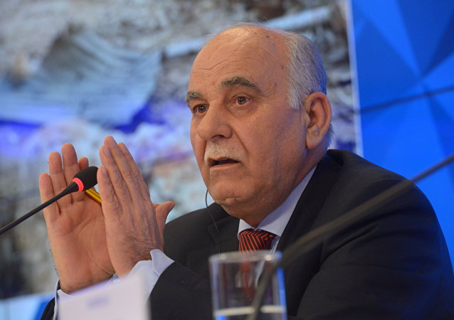 Syrian opposition delegation leader and former Army Gen. Mustafa Sheikh