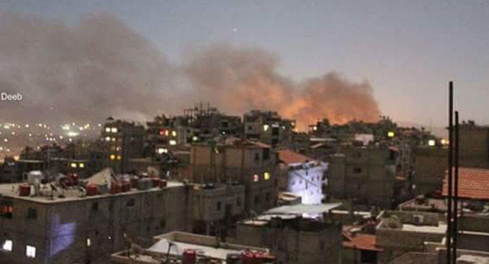 Damascus explosion