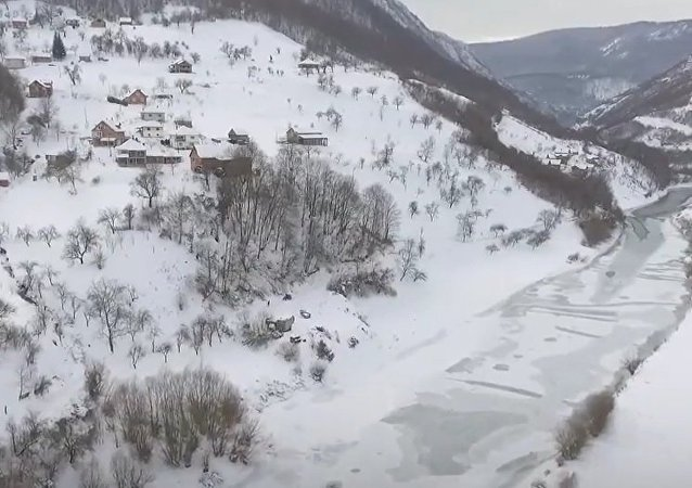Serbia In Snow