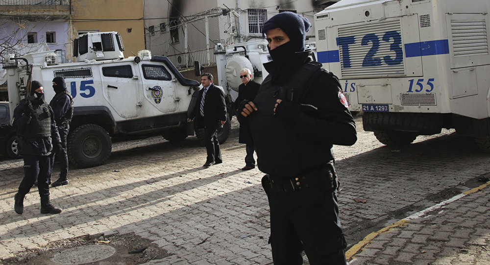 Turkish police officers. (File)