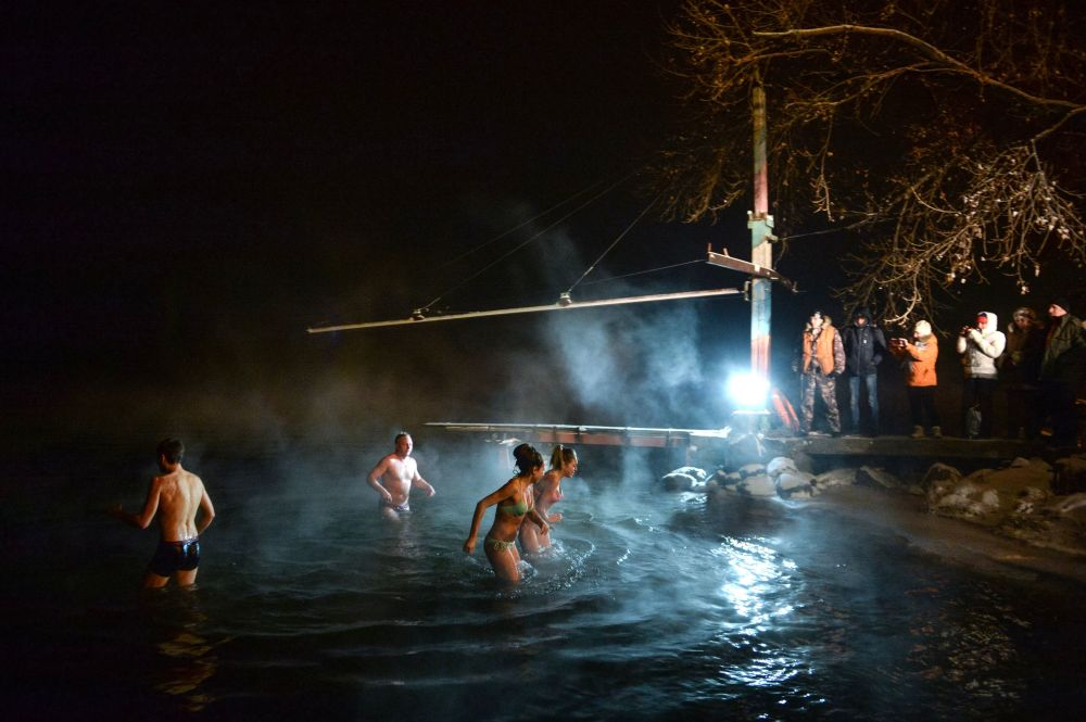 Cold Hands, Warm Hearts: Russians Brave the Cold to Celebrate Orthodox Epiphany