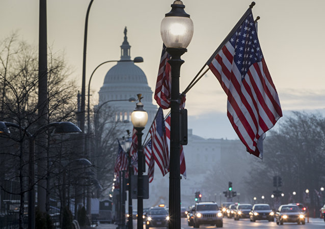 The Capitol in Washington, is seen at dawn, Wednesday, Jan. 18, 2017, as the city prepares for Friday's inauguration of Donald Trump as president