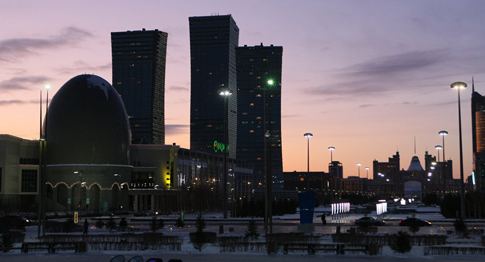 Cities of the world. Astana