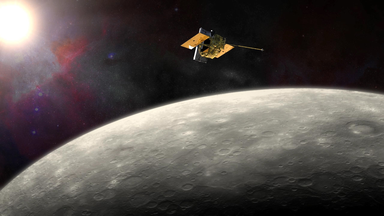 messenger spacecraft mercury discoveries - photo #4
