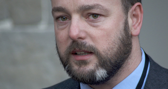 Nothern Irish Social Democratic and Labour Party (SDLP) leader Colum Eastwood. (File)