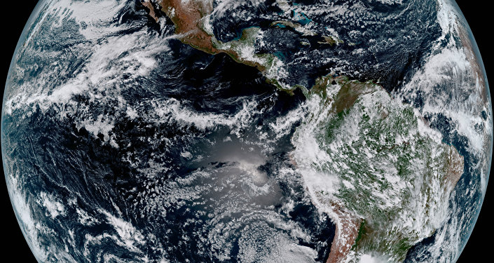NOAA's GOES-16 Satellite Snapped this Photo of Earth