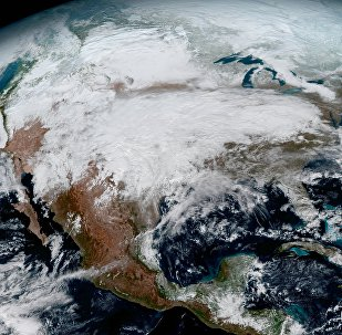 NOAA's GOES-16 Satellite Snapped this Photo of North America