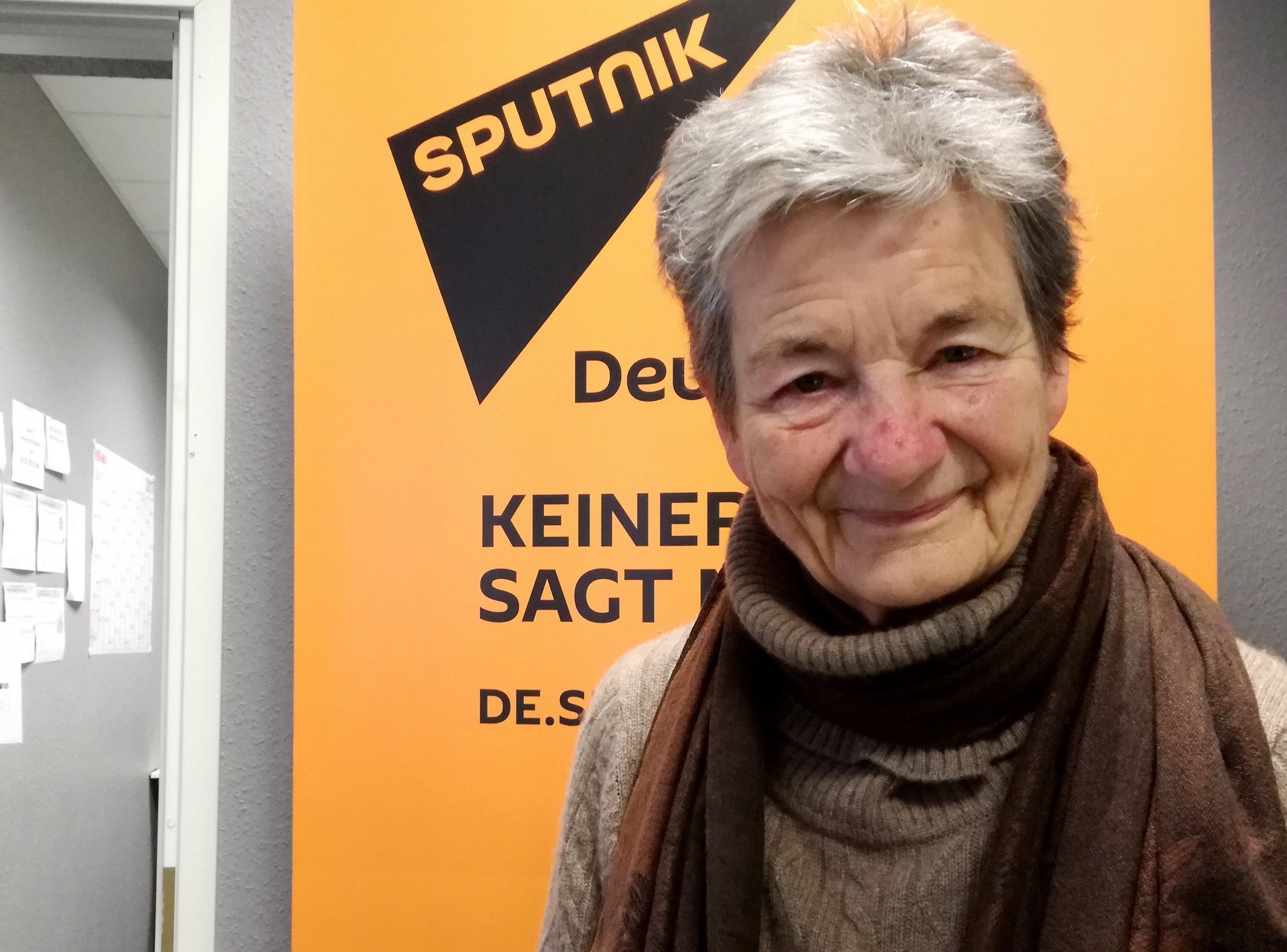 Peace activist Gertrud Nehls