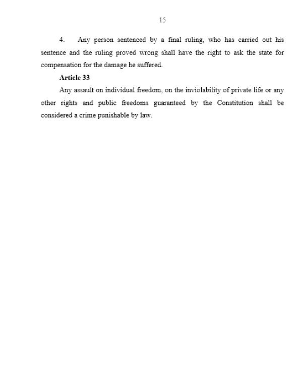 Syrian Constitution, Page 15