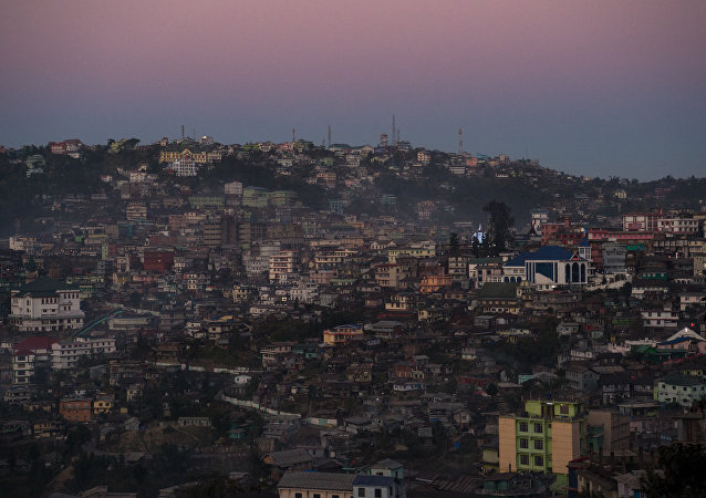 Kohima, capital of the northeastern state of Nagaland