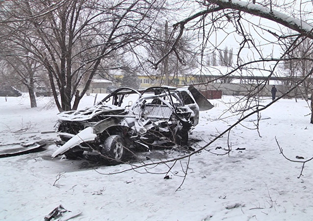 Car Blast in Lugansk Kills Republic's Senior Commander