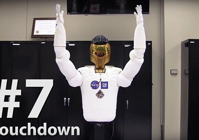 Referee Robonaut: Football Signals