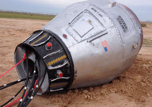 'Space Capsule' Found Along Arizona Road