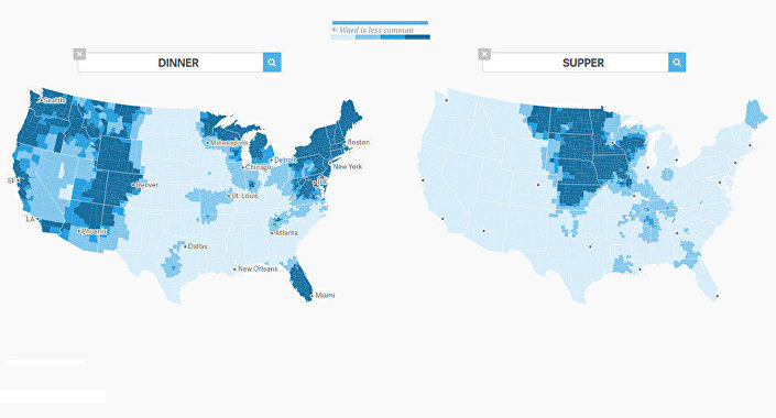 The great American word mapper