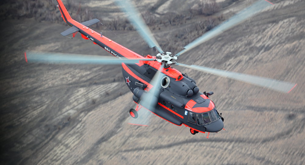 Mil Mi-8AMTSH-VA Arctic helicopter
