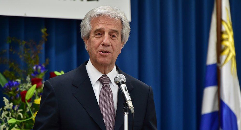 Uruguayan President Tabare Vazquez