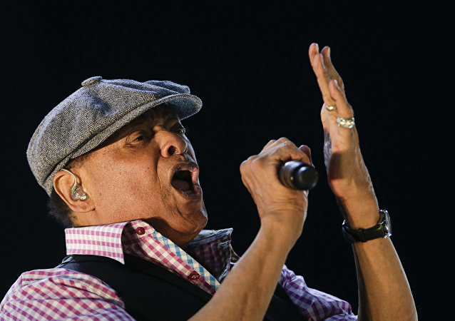 In this Sept. 27, 2015, file photo, Al Jarreau performs at the Rock in Rio music festival in Rio de Janeiro, Brazil.
