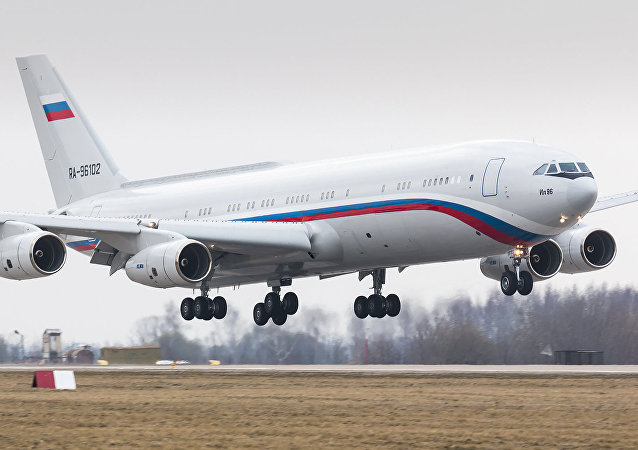 Ilyushin IL-96-400VVIP (ex. IL-96-400T Polet) converted into passenger version from cargo variant for Ministry of Defence