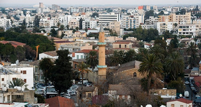 A view of Nicosia.